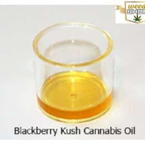 blackberry kush cannabis oil